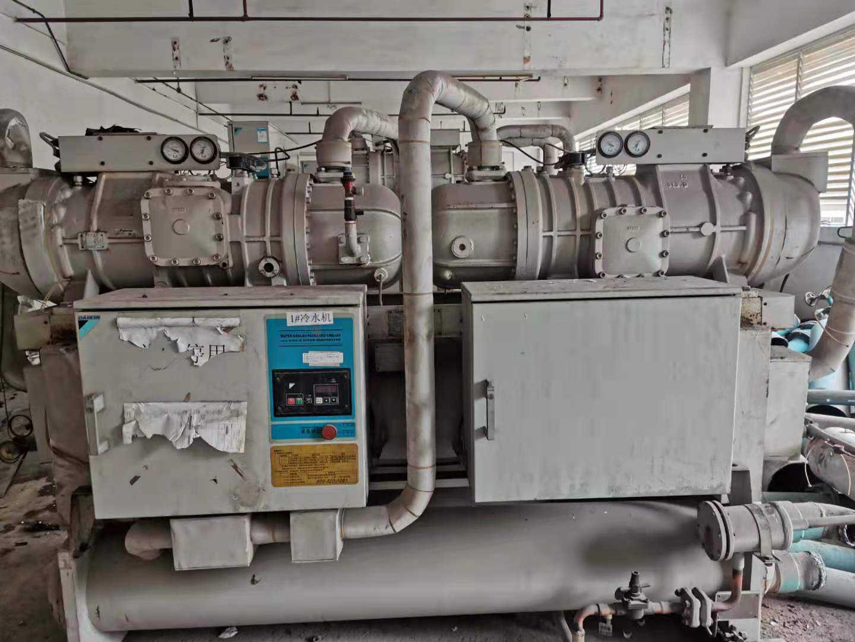 惠州市龙门县风冷式冷水机组回收价格一览表【制冷设备目前报价单】