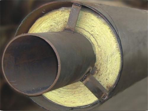 DN450mm高密度聚乙烯外护套保温管报价单价