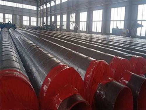 DN450外聚乙烯内聚氨酯发泡保温管尺寸规格