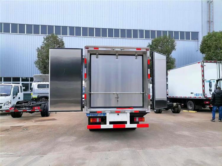 大连市解放J6F冷藏车2吨冷藏车厂家特惠