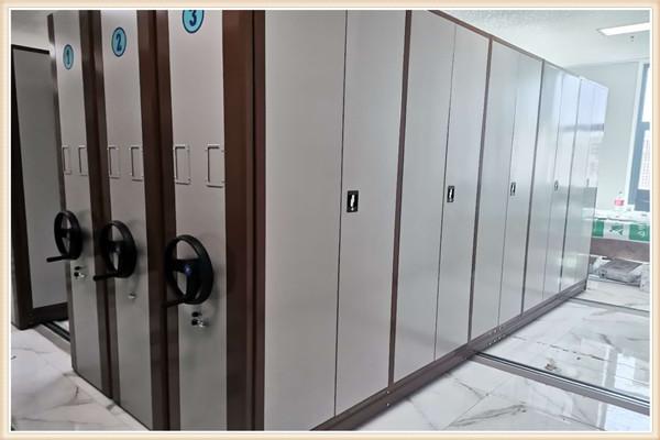 优选:移动密集文件柜升降机井冈山