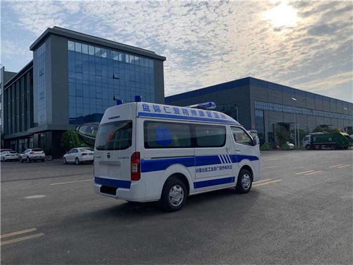 自动挡救护车使用方式救护车生产企业