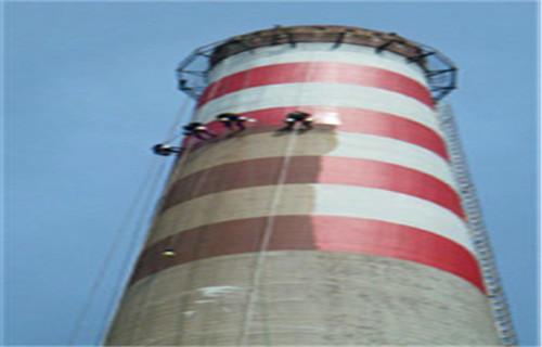 杭州市烟囱刷航标公司-华电建设