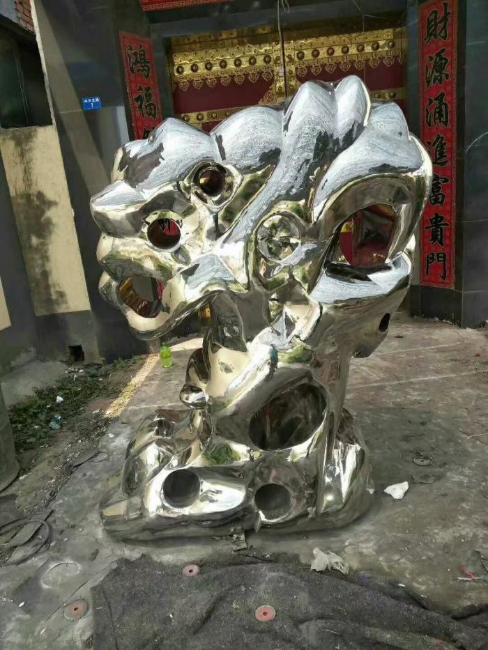 仿真珊瑚石雕塑厂家-镜面珊瑚石雕塑-镂空珊瑚石雕塑-黑龙江天启雕塑