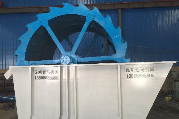 昆明河沙洗沙机碧江区昆明轮式洗砂机销售价格