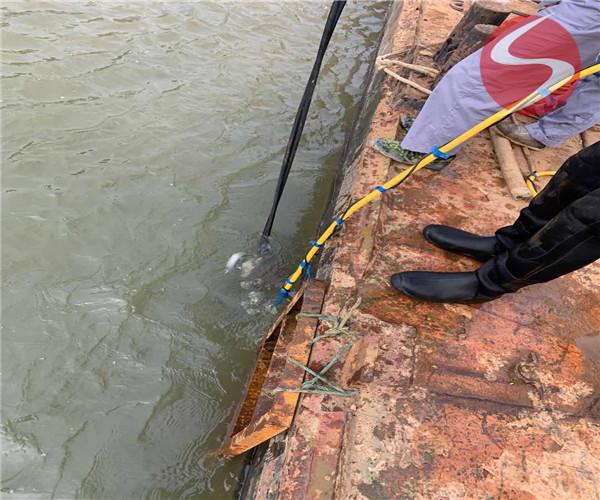 水下管道连接——巴中市沉管服务工程公司