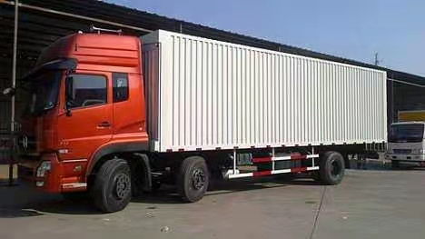 2021有佛山白坭到广东河源6米8厢式车整车运输