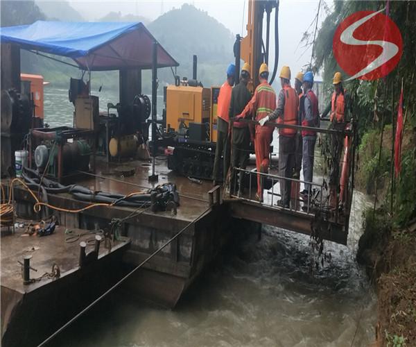 邵阳市水下竖井施工——水下施工工程