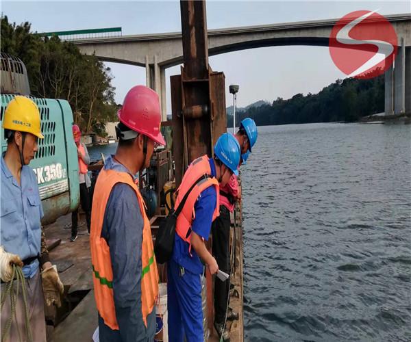 清远市沉管——水下施工单位
