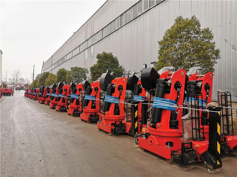 大同市福田瑞沃8吨随车吊图片和配置
