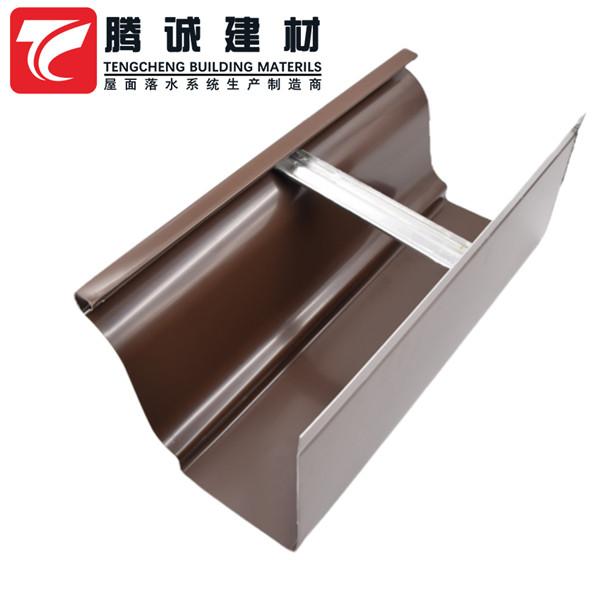 金属天沟厂家 铝合金房檐排水沟 安徽安庆怀宁县选腾诚就对了