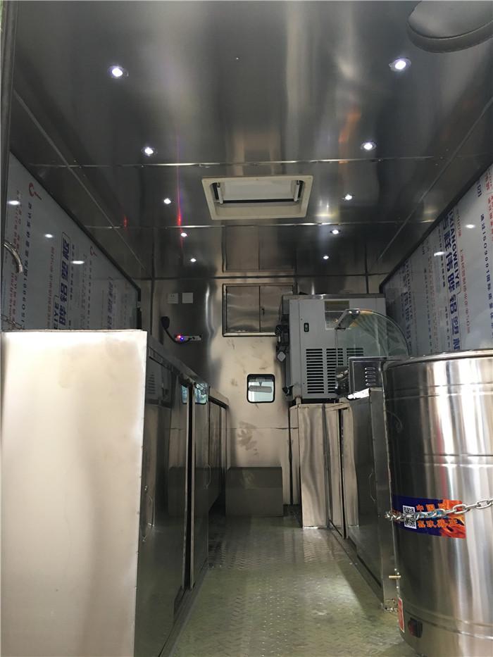 厂家批发流动式冰淇淋车定制生产