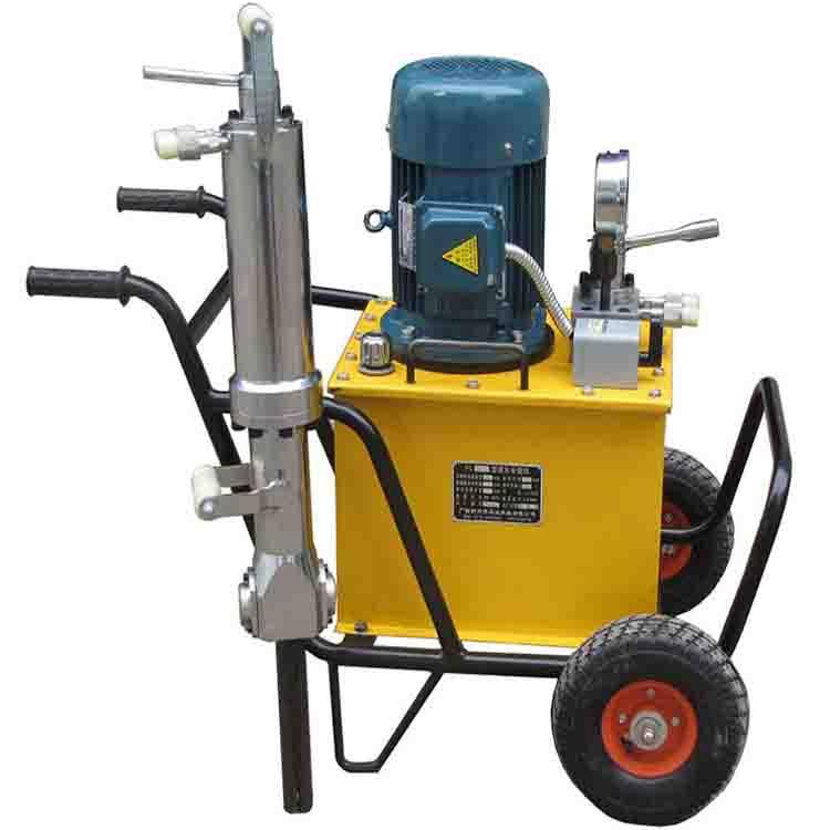 海南省液压分裂机JCS-250电动液压分裂器
