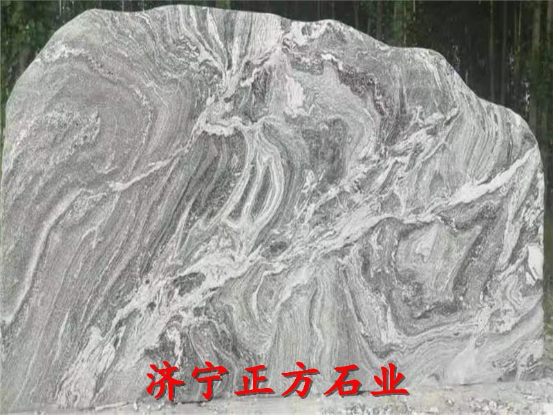三沙景观切片石社区景观石安装怎样