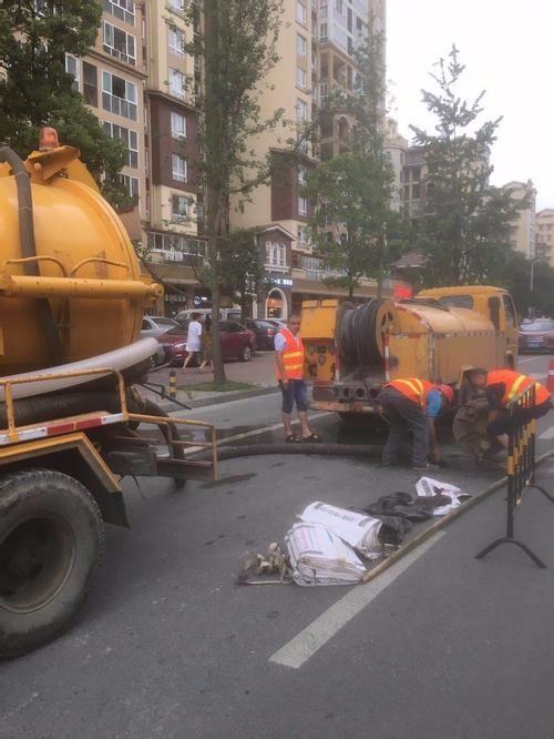 新安市政污水管道清洗专业服务