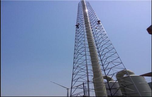 鄂州砖混烟囱加箍公司2021弘景建筑