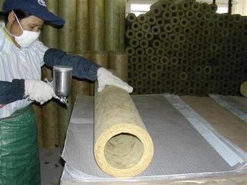 连云港蒸汽保温岩棉管壳 硅酸铝管玻璃棉保温管图文