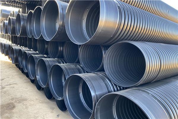 临城DN600双壁波纹管/大口径hdpe双壁波纹管品质有保证