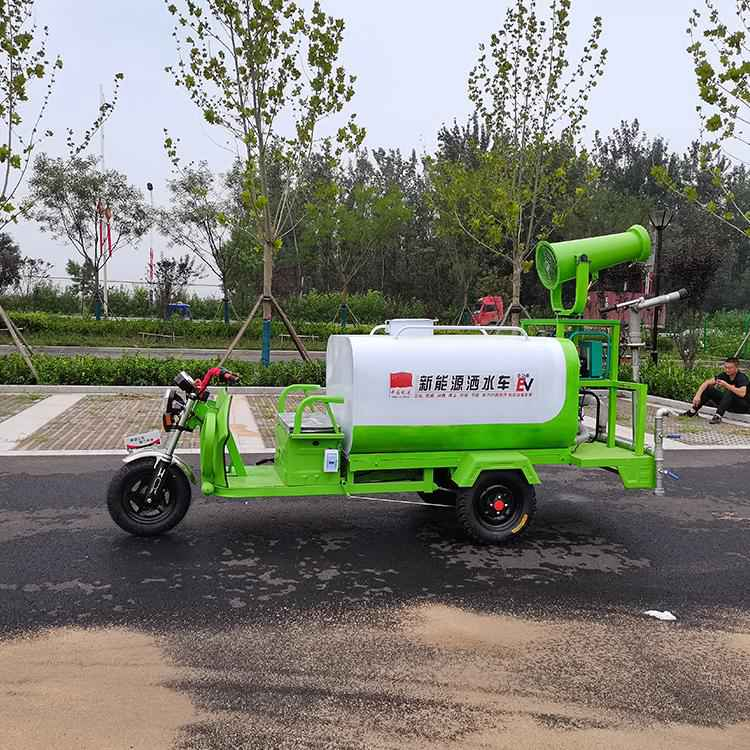 多功能2吨3吨洒水车 山东东营 电动三轮洒水车