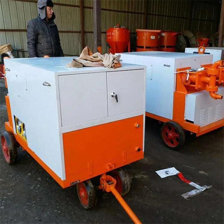 浙江湖州 液压注浆泵双缸双液压注浆泵 液压灌浆机