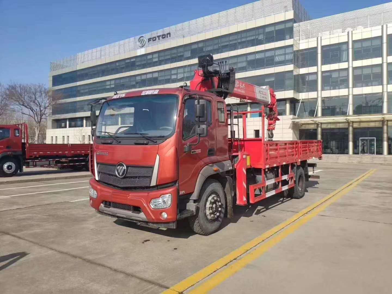 遂宁市单桥8吨随车吊图片和配置