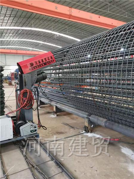 哈尔滨钢筋笼缠绕机加工钢筋笼范围