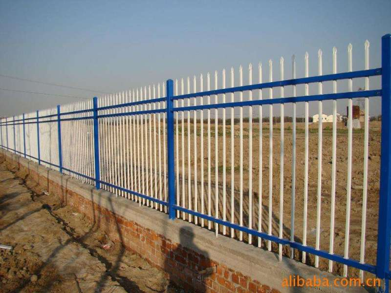 图-郑州中原围墙栏杆围墙护栏精创金属