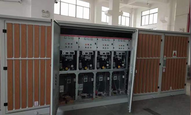 抚州市10KV高压电缆分支箱一进四出套什么定额