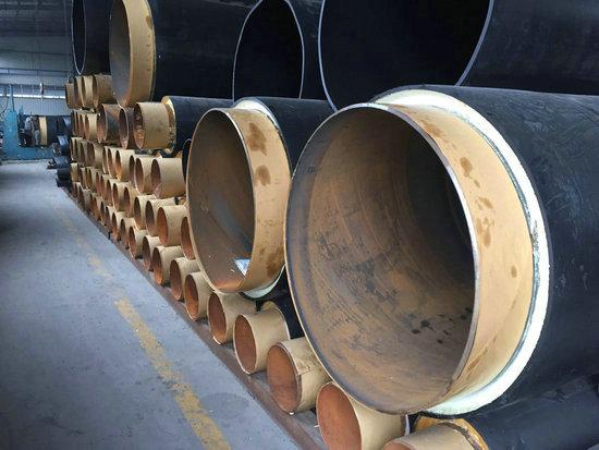 拉萨城关工业用聚氨酯蒸汽直埋保温管厂家现货