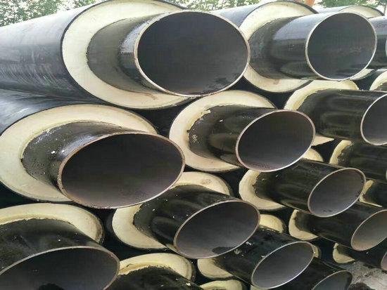 沧县整体采暖保温螺旋钢管实体厂家