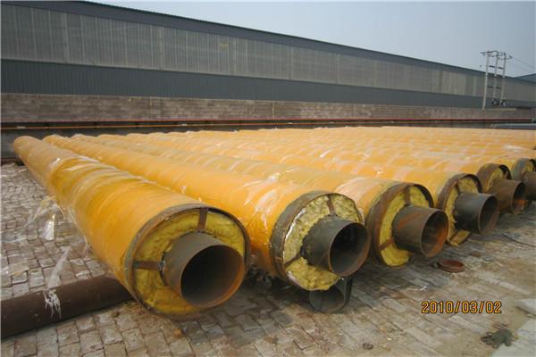 直径DN200铁皮保温钢管报价
