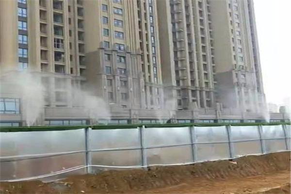 吉林龙井 市政公路围挡喷淋系统 工地高空喷淋系统 源头厂家