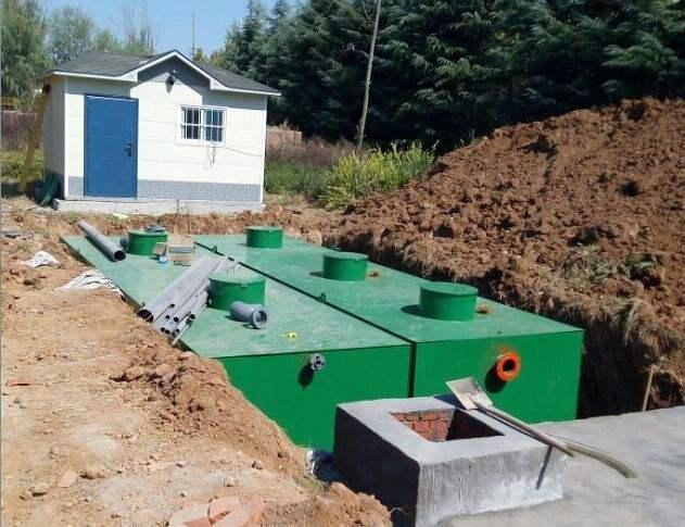三门乡村改造集中式污水处理设施