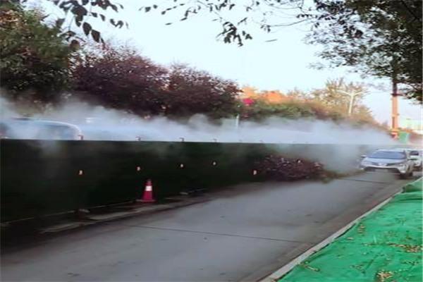 从化 道路围挡喷淋 围墙围挡喷淋系统 参数