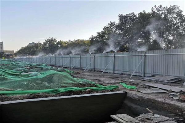 龙泉 建筑工地围墙围挡喷淋 车间除尘雾化降温喷淋系统 现货充足