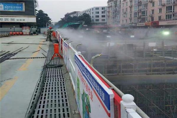 资讯:福建邵武 喷雾围挡喷淋 工地围墙围挡喷淋 全国直销