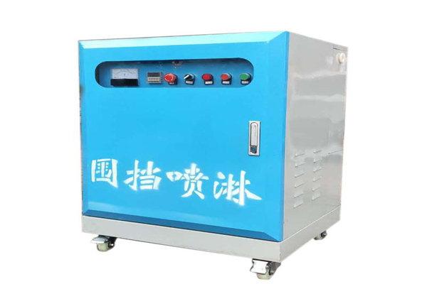 广东中山 工地围墙围挡喷淋 工地围挡喷淋 车间除尘雾化降温喷淋系统