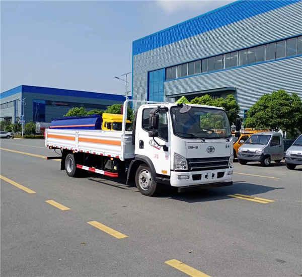 江铃国六天然气罐平板式气瓶危货车车型配置