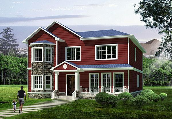 内蒙古自治区鄂尔多斯市达拉特旗新农村建设轻钢房屋