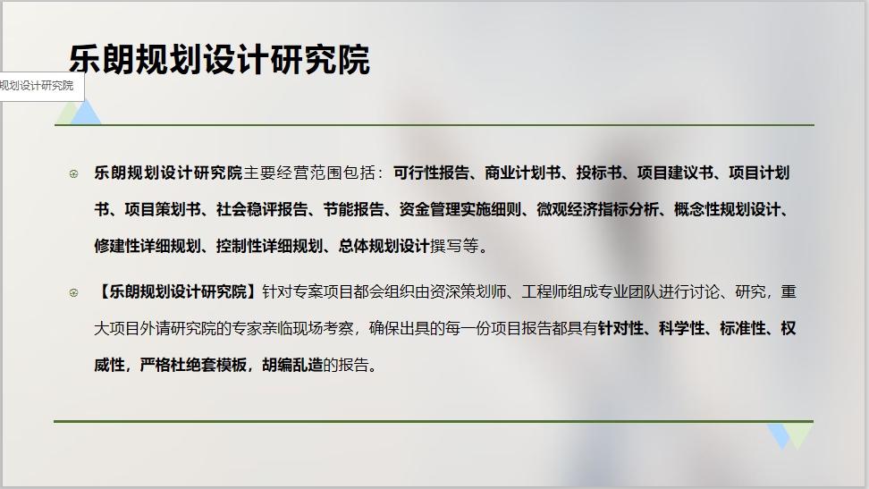 襄阳写可行性报告甲级资质的公司/机构