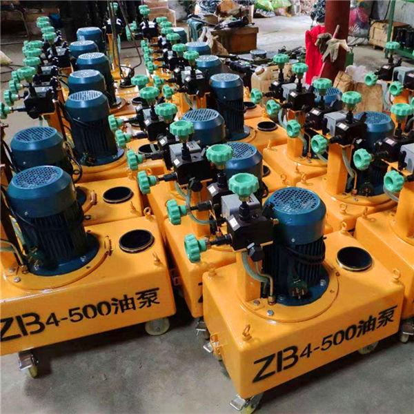 内江ZB4预应力张拉液压油泵波纹管扁管机