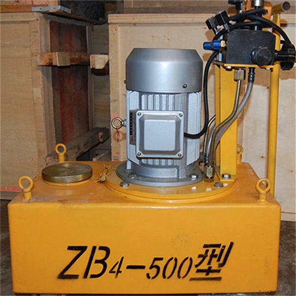 河南辉县YBZ预应力张拉电动液压油泵设备钢绞线穿线机