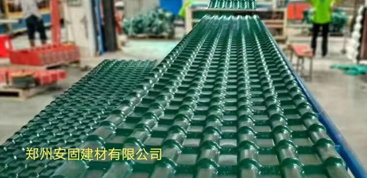 西华县不怕冰雹树脂瓦经销商送货