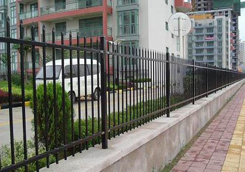 多图-兴安盟乌兰浩特围墙栏杆围墙护栏精创金属