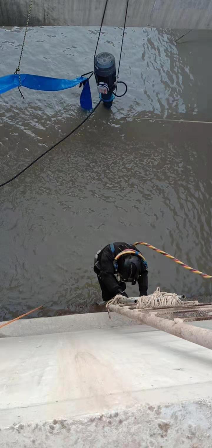 白银市水下管道排查探摸——专业潜水单位