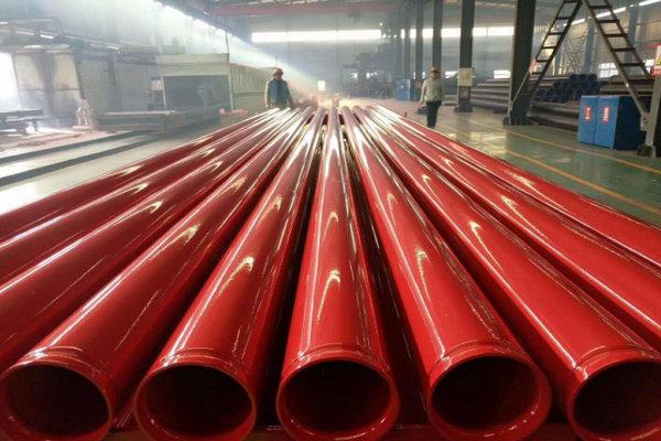 新疆乌鲁木齐法兰连接涂塑钢管-的生产厂家