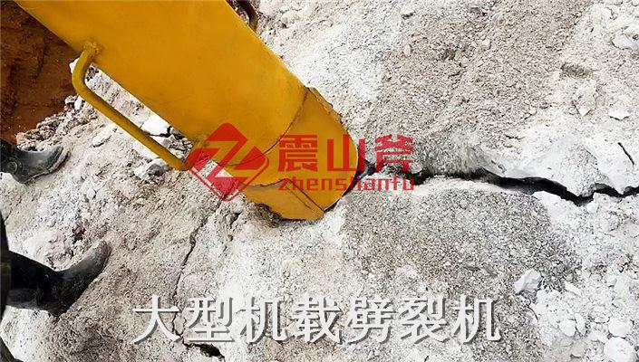 任丘开山劈裂棒开采石头机器产品稳定技术成熟