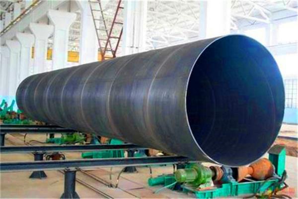 高温直埋式预制保温DN400mm螺旋钢管价格每米价钱