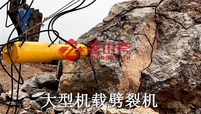 赣州于都荒料液压裂岩机全站式服务