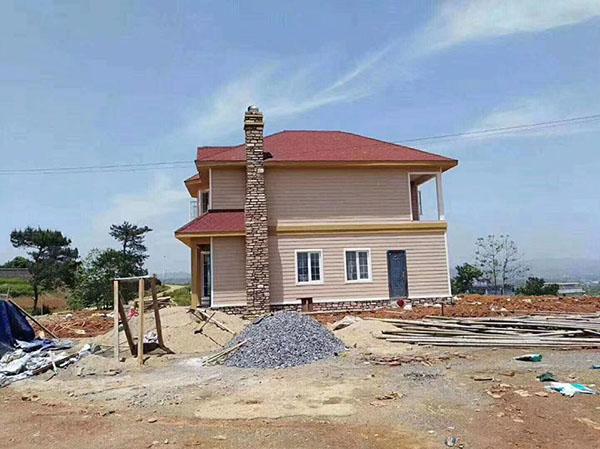 河北省唐山市路南轻钢别墅建造
